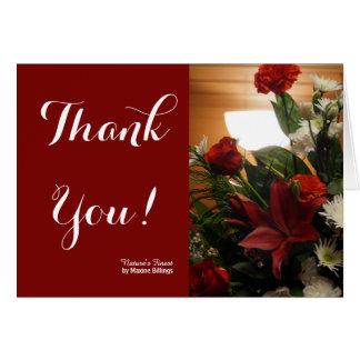 Thank You (Condolence Card) Card