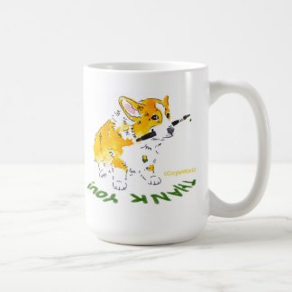 Thank You Corgi Mug