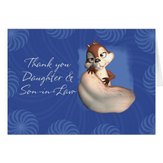 Thank you Daughter and Son-in-Law 6 Card