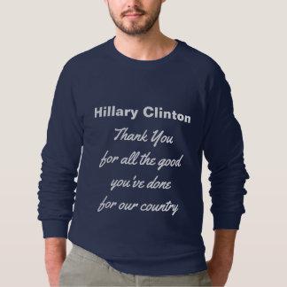 Thank You Democrat Hillary Clinton USA Sweatshirt