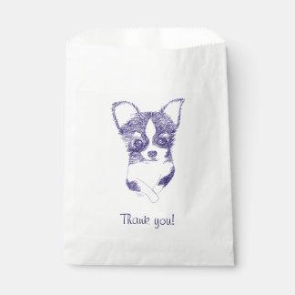 Thank you dog bag