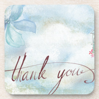 thank you drink coasters