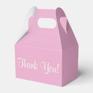 """""""Thank You"""" Favor Box Party Favour Boxes"""