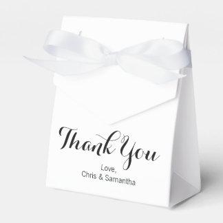 Thank You Favor Box - Wedding Favor Box