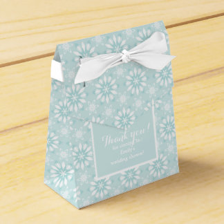 Thank you! Favor Box with flowers-wedding Favour Boxes