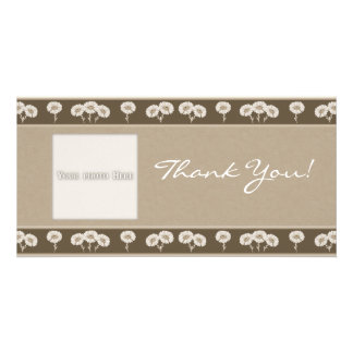 Thank You Flowers 7 Photo Card Template