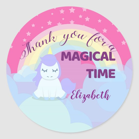 Thank you for a Magical Time stickers