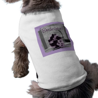 Thank You for being my Bridesmaid Gift Dog T-shirt