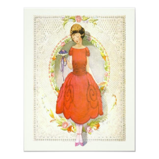 Thank You for Being My Bridesmaid Vintage Card