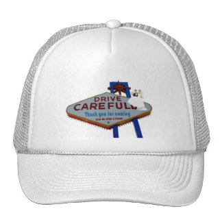 Thank you for coming Drive Carefully B&G Cap