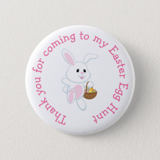'Thank you for coming' Easter Easter Egg Hunt 6 Cm Round Badge
