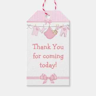 Baby Shower Thank You Gift Tags Zazzle Com Au