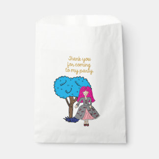 Thank you for coming to my party favour bag
