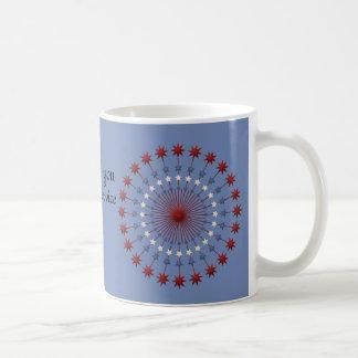"""Thank you for service"" American Pride Coffee Mug"