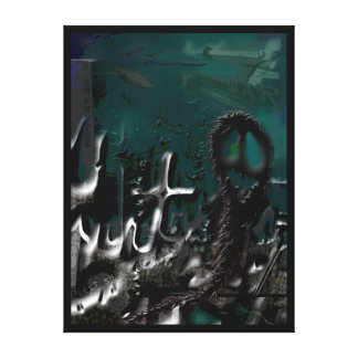 Thank You For This Wonderful War Stretched Canvas Print