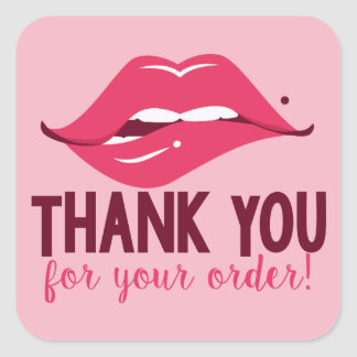 Thank You for Your Order - Lip Stickers