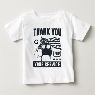Thank You For Your Service Baby T-Shirt