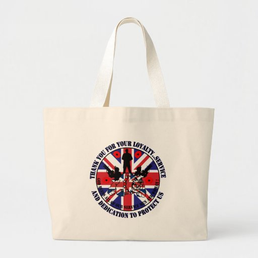 Thank you for your service UK Soldiers Bag