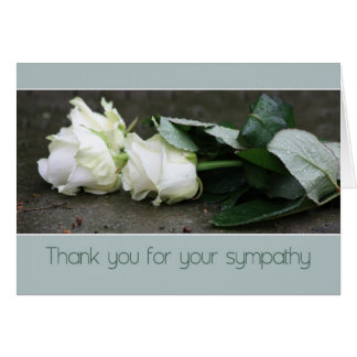 Thank you for your sympathy card