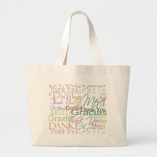 Thank You Gifts Jumbo Tote Bag