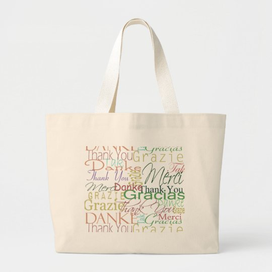 Thank You Gifts Large Tote Bag