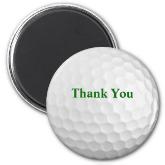 Thank You Golf Gift Magnet