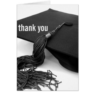 Thank You : Graduation Card
