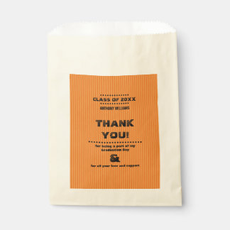 Thank You | Graduation Party Custom Favor Bags