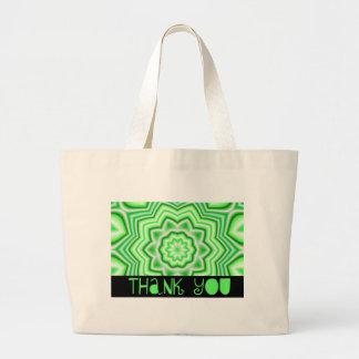 Thank You Green Tote Bag