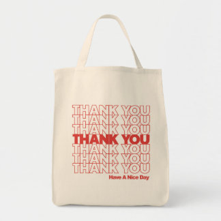 Thank You grocery bag