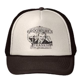 Thank You Groomsmen Cap