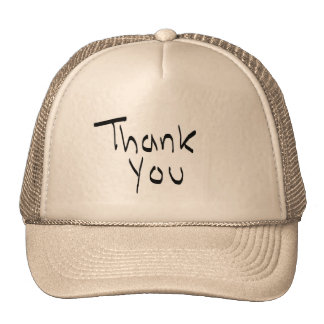 Thank you hat