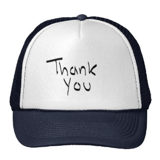 Thank you hats