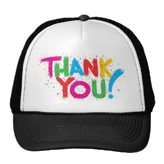 Thank You! Mesh Hat