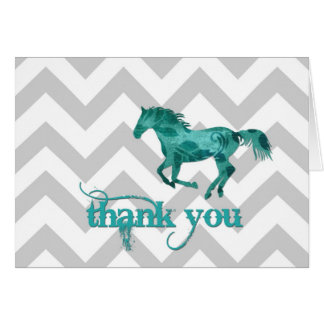 Thank You Horse Card