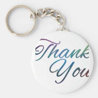 Thank You Images Key Ring