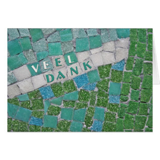 Thank You in Dutch Card