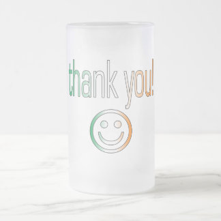 Thank You! Ireland Flag Colors Coffee Mugs