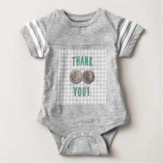 thank you ivf invitro fertilization embryos baby bodysuit