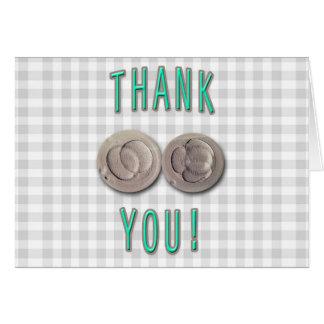 thank you ivf invitro fertilization embryos card