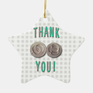 thank you ivf invitro fertilization embryos ceramic ornament