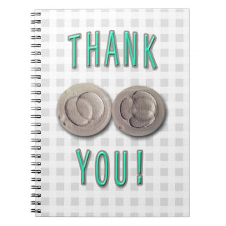 thank you ivf invitro fertilization embryos notebooks