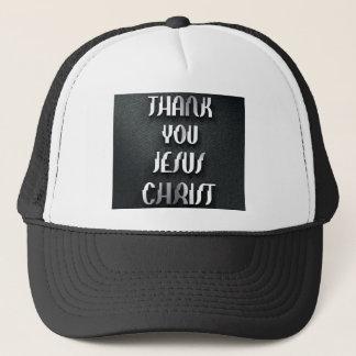 Thank You JESUS 3 Trucker Hat