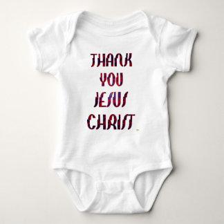 Thank You JESUS Baby Bodysuit