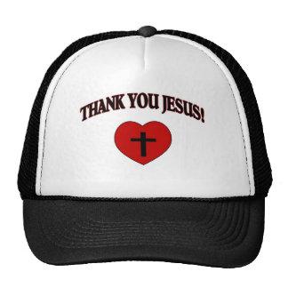 Thank You Jesus (Heart) Cap