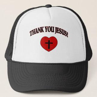 Thank You Jesus (Heart) Trucker Hat