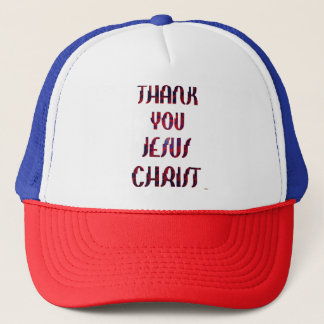 Thank You JESUS Trucker Hat