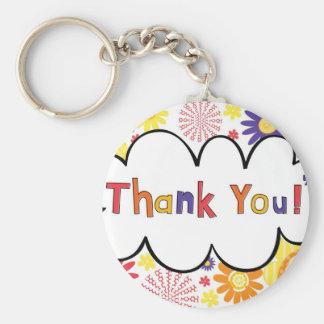 Thank You Key Chain