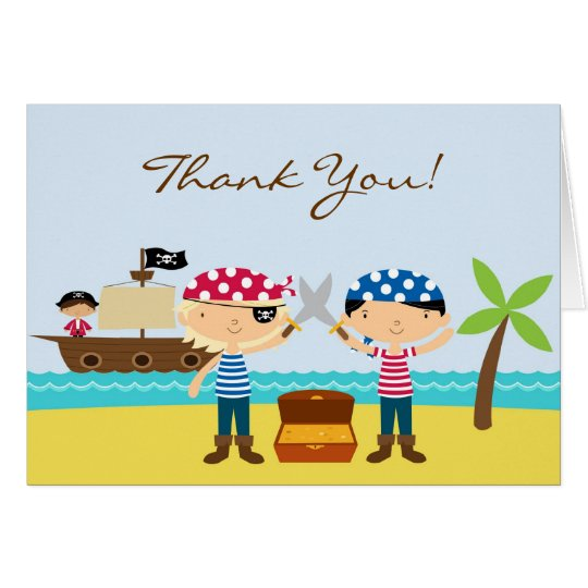 Thank You Kids Greeting Card