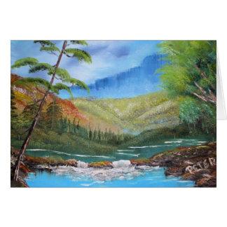 Thank You Landscape Card